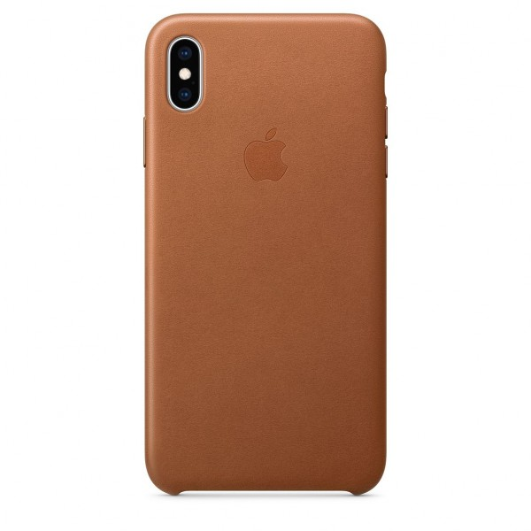 iPhone XS Max Leather Case Saddle Brown MRWV2FE/A